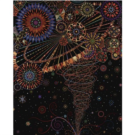 abductor by fred tomaselli