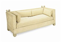 knole style sofa by de angelis