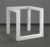 incomplete open cube 8/5 by sol lewitt