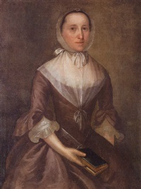 portrait of grandmother allen by joseph badger