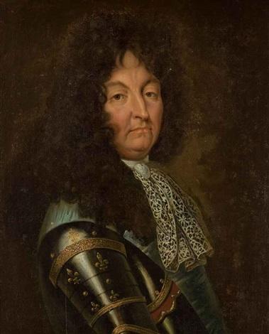 Portrait De Louis Xiv En Armure By Hyacinthe Rigaud On Artnet
