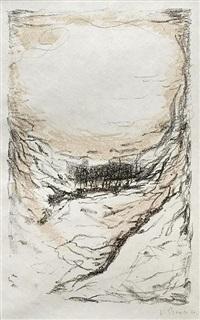 landscape by josef sima