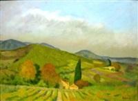 paysage de provence by jacob markiel