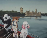 pets in london by li ji