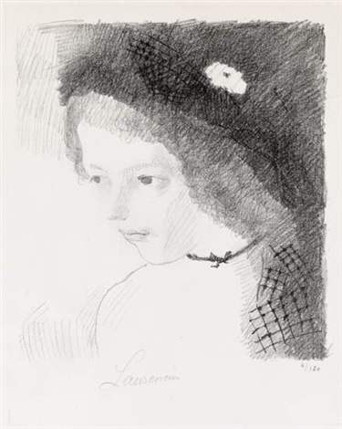 suzanne by marie laurencin