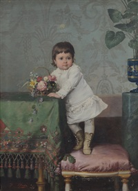 ritratto di bimba by francesco beda