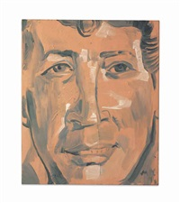 portrait of dean martin by martin kippenberger