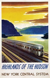 new york central system highlands of the hudson by leslie ragan