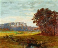 october afternoon by franklin whiting rogers