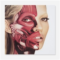 kate moss (use money cheat death) by damien hirst