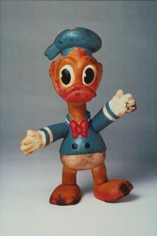 propo object donald duck 1972 1994 by paul mccarthy