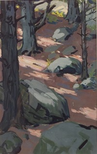 forest interior by charles hovey pepper