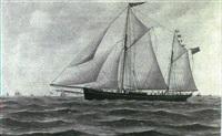 the trading schooner lilian by john fannen