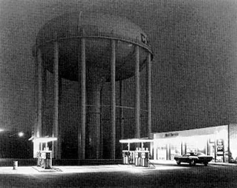 petit's mobil station, cherry hill, nj by clara tice