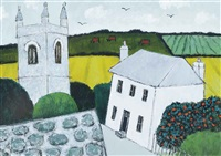 country church, zennor by joan gillchrest