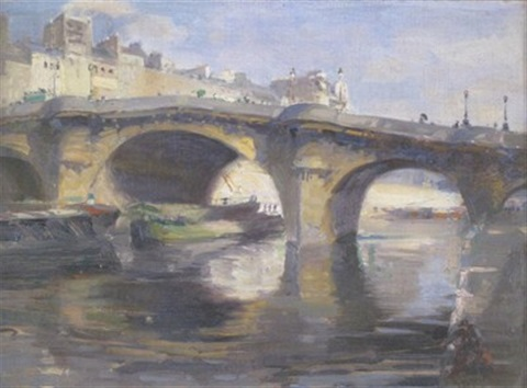 the pont neuf paris by john frederick pettinger