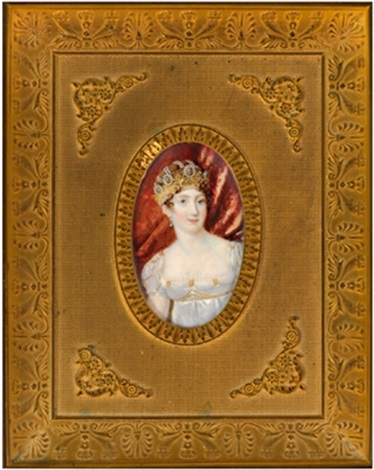 bildnis der hortense de beauhernais königin von holland by l thomasset