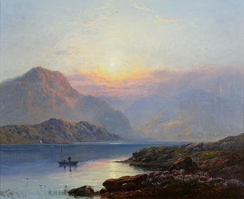 loch long by george blackie sticks