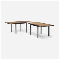 flip-top tables (pair) by edward wormley