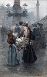 florista en parís by felix alarcon