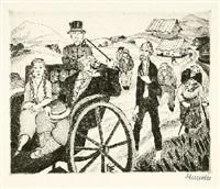 dreißig kaltnadelradierungen zu gerhart hauptmanns roman der narr in christo emanuel quint (portfolio of 30) by heinrich ehmsen
