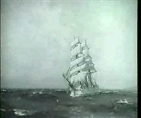 a clipper at sea by hely augustus morton smith