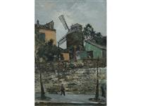 le moulin de la galette by marcel françois leprin