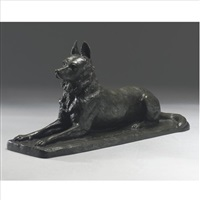 model of a german shepherd by pierre nicolas turgenov