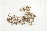 wall sculpture by william bowie
