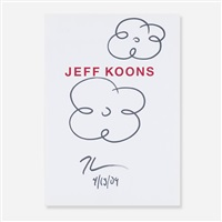 flower drawings by jeff koons