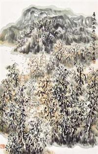 长安兴教寺 by luo ping'an
