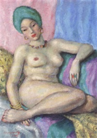 l'odalisque by soungouroff