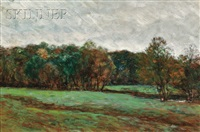 a fall meadow by clifford warren ashley