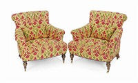club chairs (pair) by de angelis