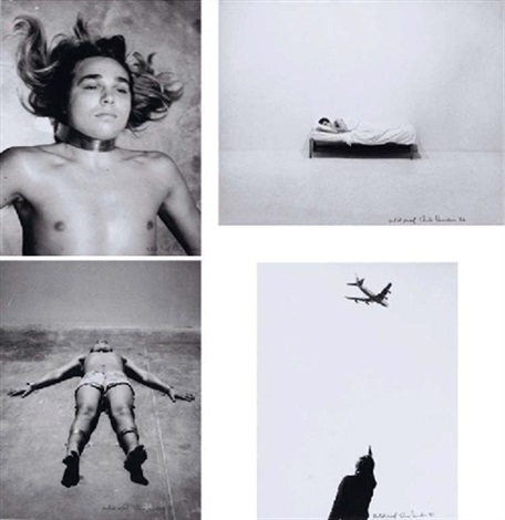 bed piece (+ 2 others; 3 works) by chris burden