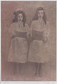 singing girls by boris zaborov