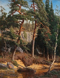 In the forest, 1878