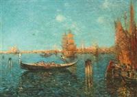venetian scene by nicholas briganti