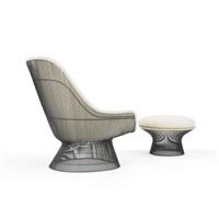 Lounge Chair And Ottoman, 1970