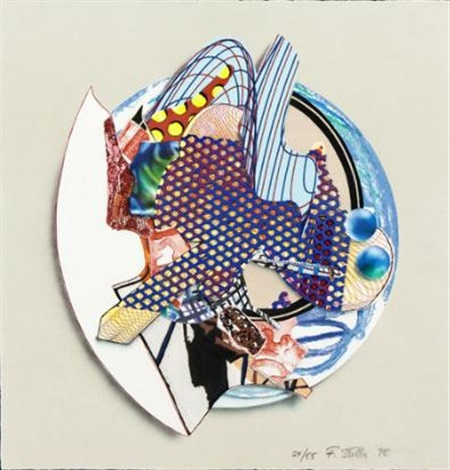 ilffish from imaginary places iii by frank stella
