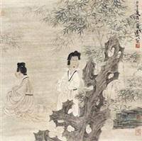 竹林仕女 by xu lele