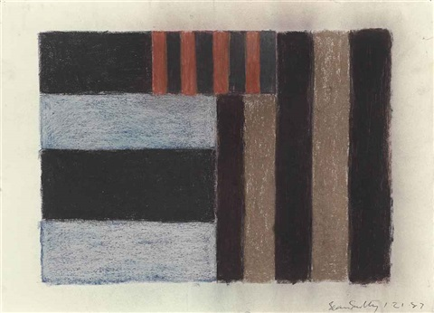 untitled study for signal by sean scully