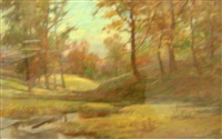 a dew-drenched morning in autumn by a. m. fleming