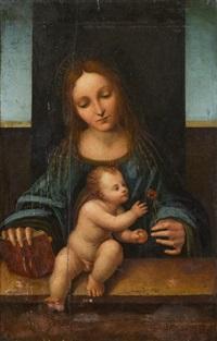 madonna mit christuskind, nelke und apfel by anonymous-italian (16)