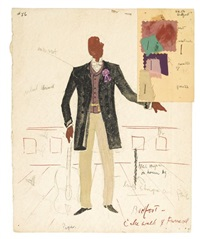 costumes for st. louis woman (set of 5) by lemuel ayers