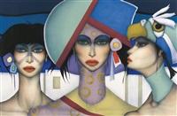 trois femmes by jef van tuerenhout