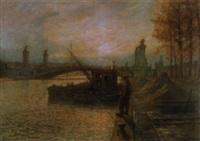 sur les quais de la seine by jean-joseph enders
