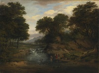 washers in a stream by patrick nasmyth