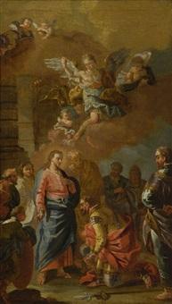 christus und der hauptmann von kapernaum by daniel gran