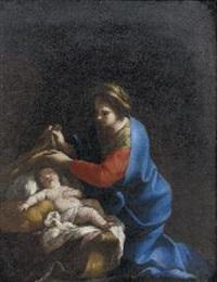 madonna col bambino by ludovico gimignani